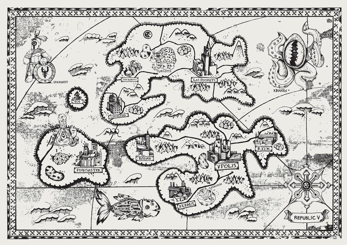 map republic y bc majgat