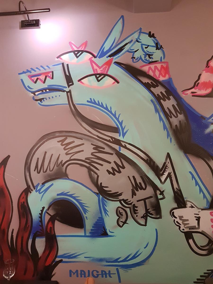 Republic Y, Majgat, Art, Monsters
